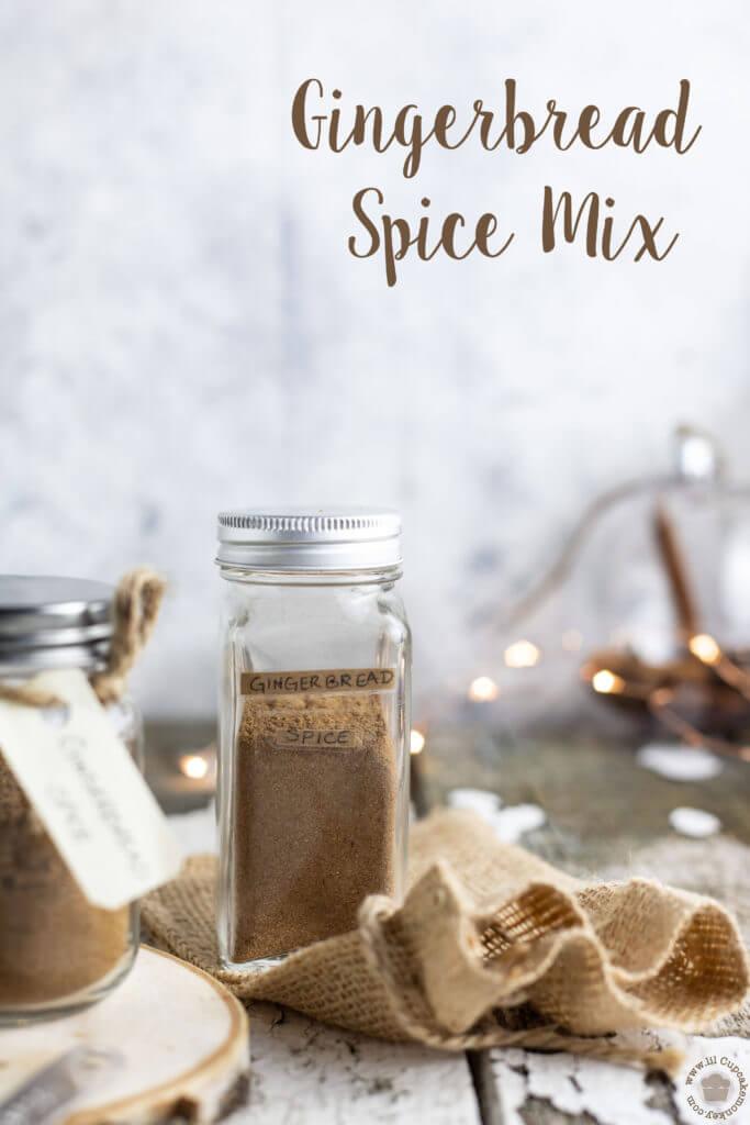 gingerbread spice mix | lilcupcakemonkey.com