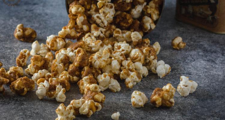 homemade caramel popcorn | lilcupcakemonkey.com