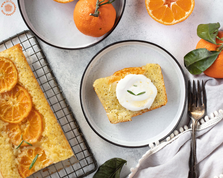mandarin and poppy seed loaf | lilcupcakemonkey.com