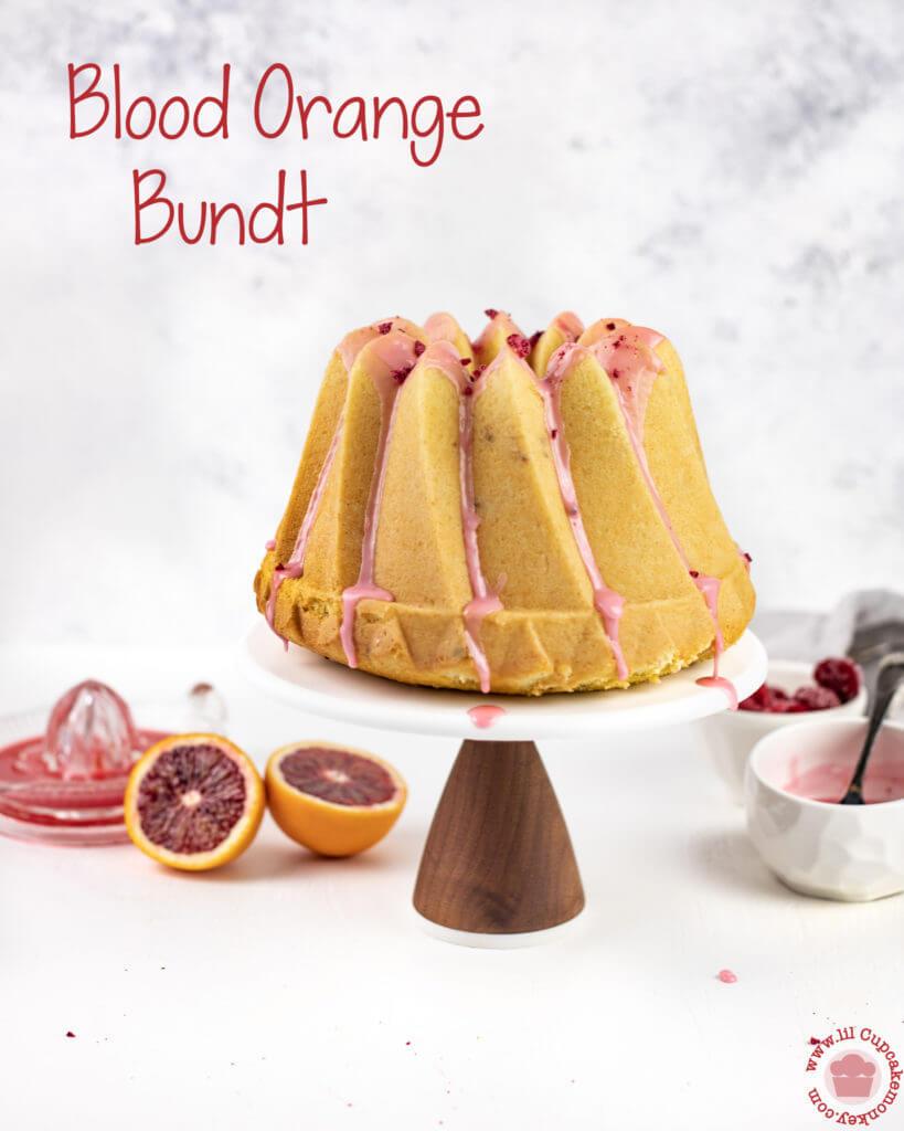blood orange bundt cake with blood orange glaze   lilcupcakemonkey.com