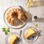 Slices of Elderflower and Lemon Verbena Bundt Cake