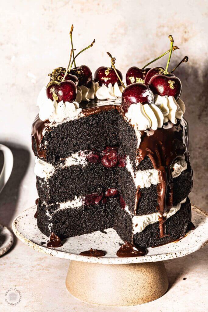 Black Forest cake | lilcupcakemonkey.com