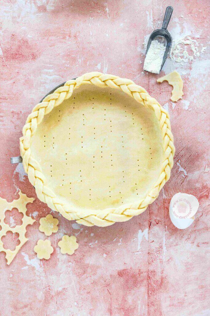 Blueberry pie | lilcupcakemonkey.com