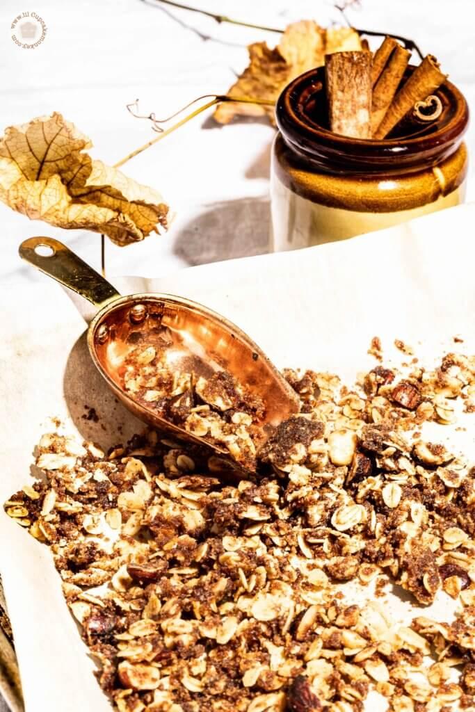 hazelnut crumble | lilcupcakemonkey.com
