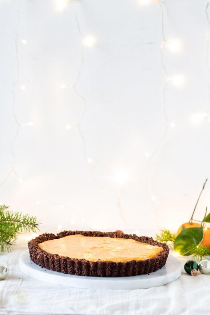 Cranberry and Orange Meringue Pie